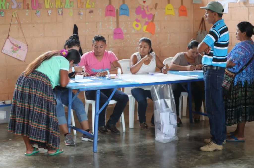 La consulta popular se realizó el pasado 15 de abril con una participación del 26.65 por ciento. (Foto Prensa Libre: Hemeroteca PL)