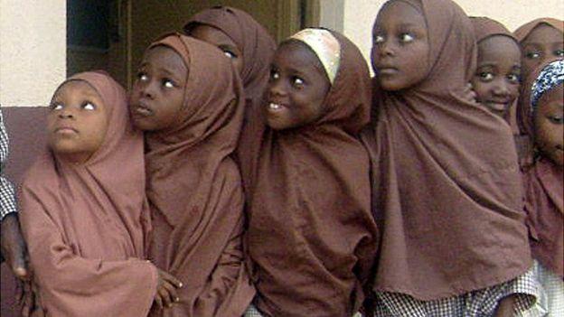 Sólo el 35% de niñas están alfabetizadas en Kano, el estado del norte de Nigeria. AFP