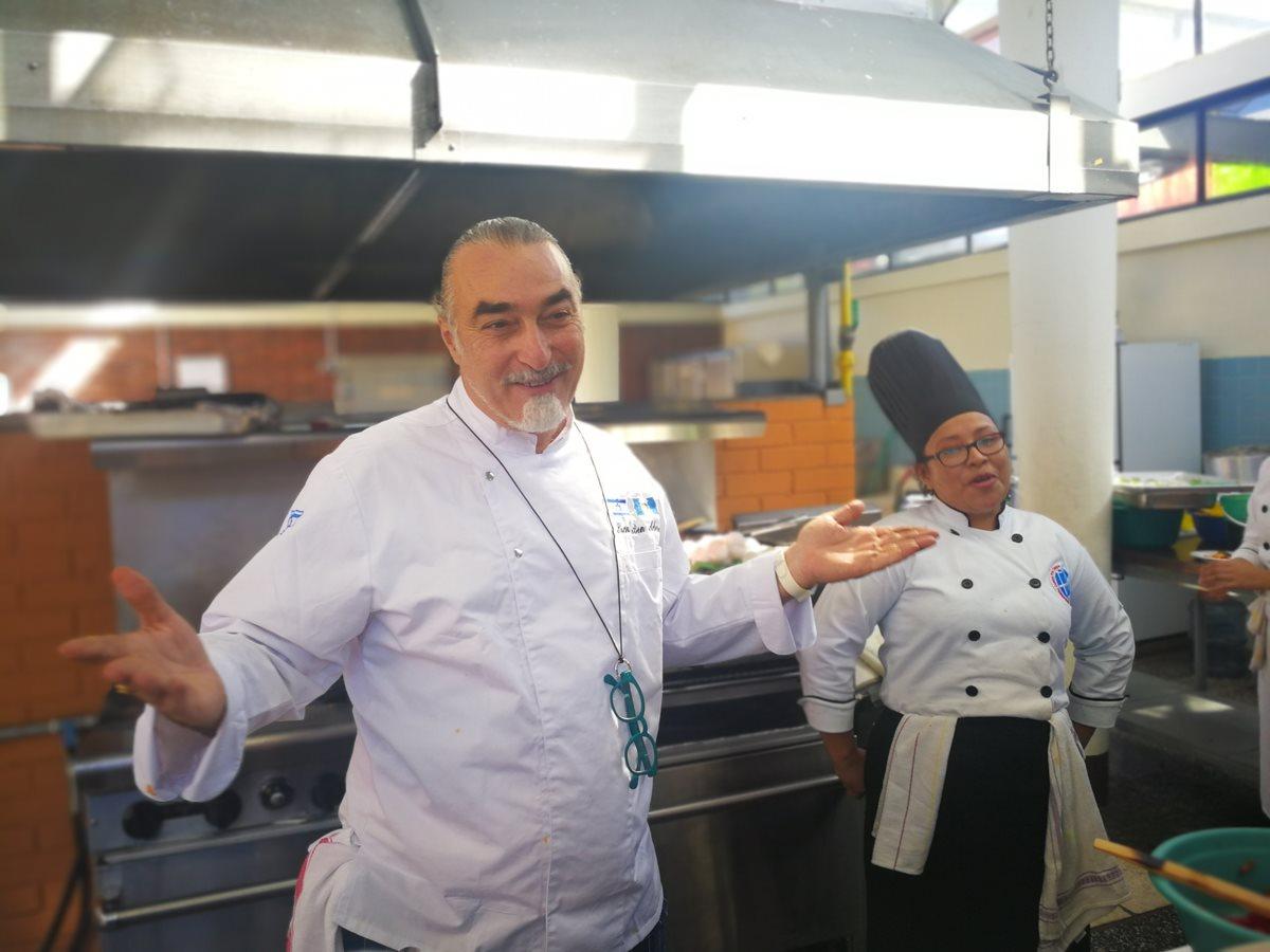 Shaul en Aderet tiene tres restaurantes en Tel Aviv, Israel (Foto Prensa Libre: Ingrid Reyes).