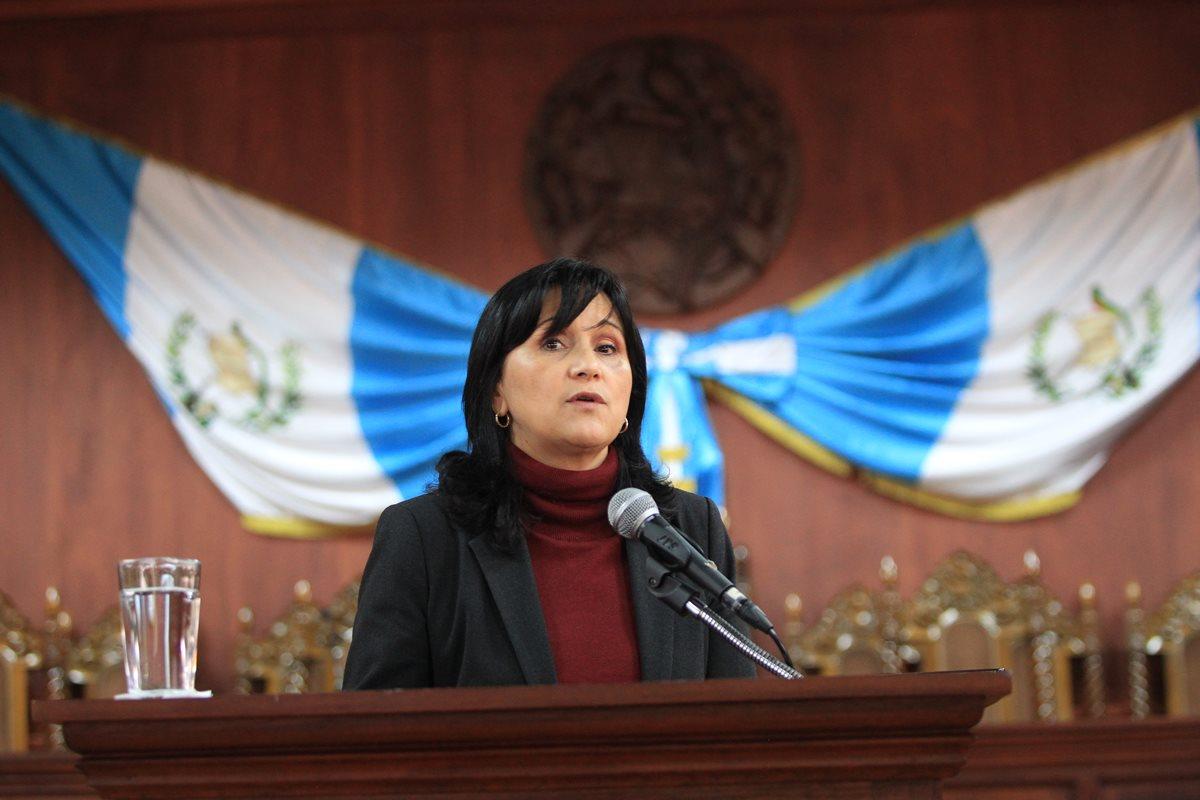 """Gloria Porras: """"Los magistrados no podemos actuar bajo presión"""""""