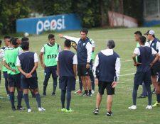 La Selección Nacional Sub 20 está en problemas a pocos días del comienzo del Premundial. (Foto Prensa Libre: Francisco Sánchez)
