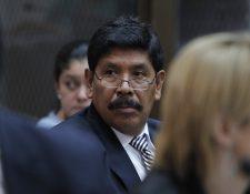 El exalcalde Adolfo Vivar durante una audiencia. Foto Prensa Libre: Hemeroteca PL