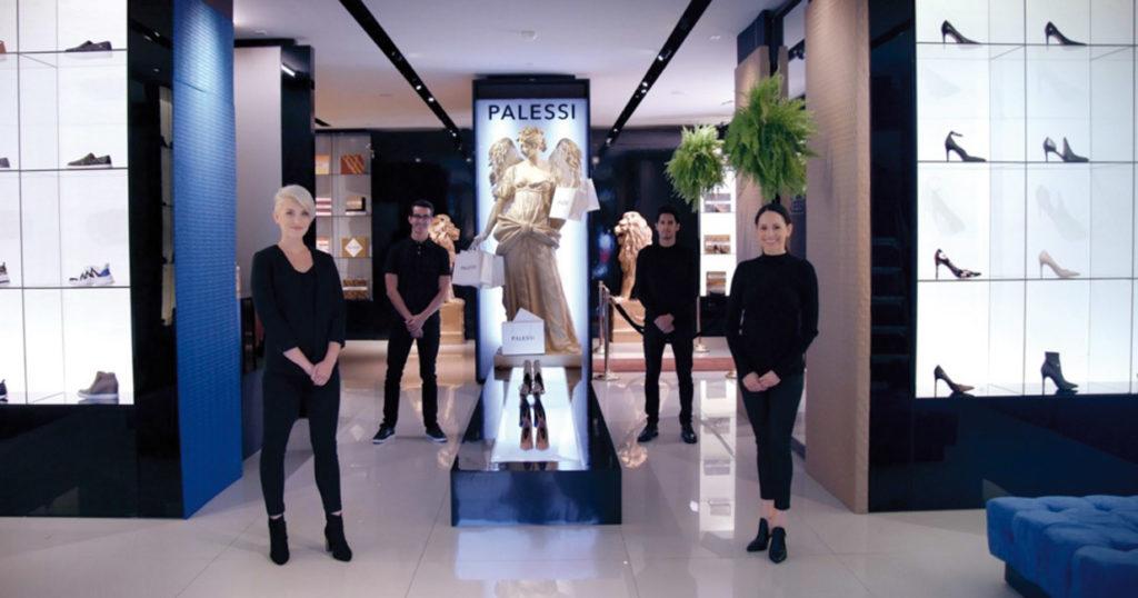 """Un experimento social en el que se creó una tienda falsa con una marca """"exclusiva"""" a la que asistieron influenciadores sociales. (Foto Prensa Libre: Payless)"""