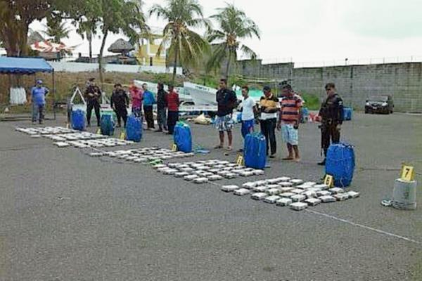 Decomisos de cocaína suman más de cuatro toneladas
