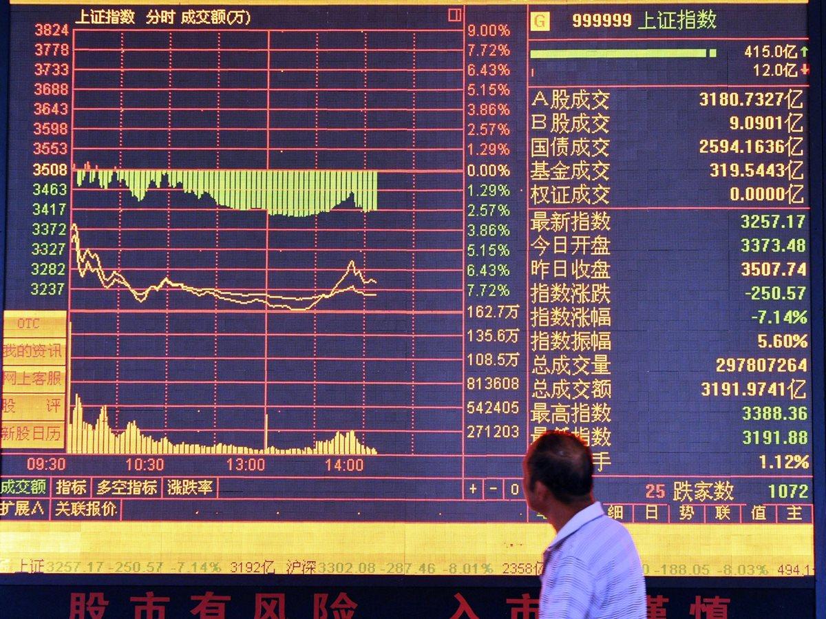 Los precios de las materias primas se desmoronan