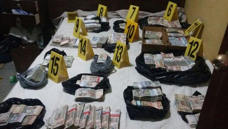 El país tiene deficiencia para lograr frenar las actividades de lavado de activos, señala el informe. (Foto Prensa Libre: Hemeroteca).