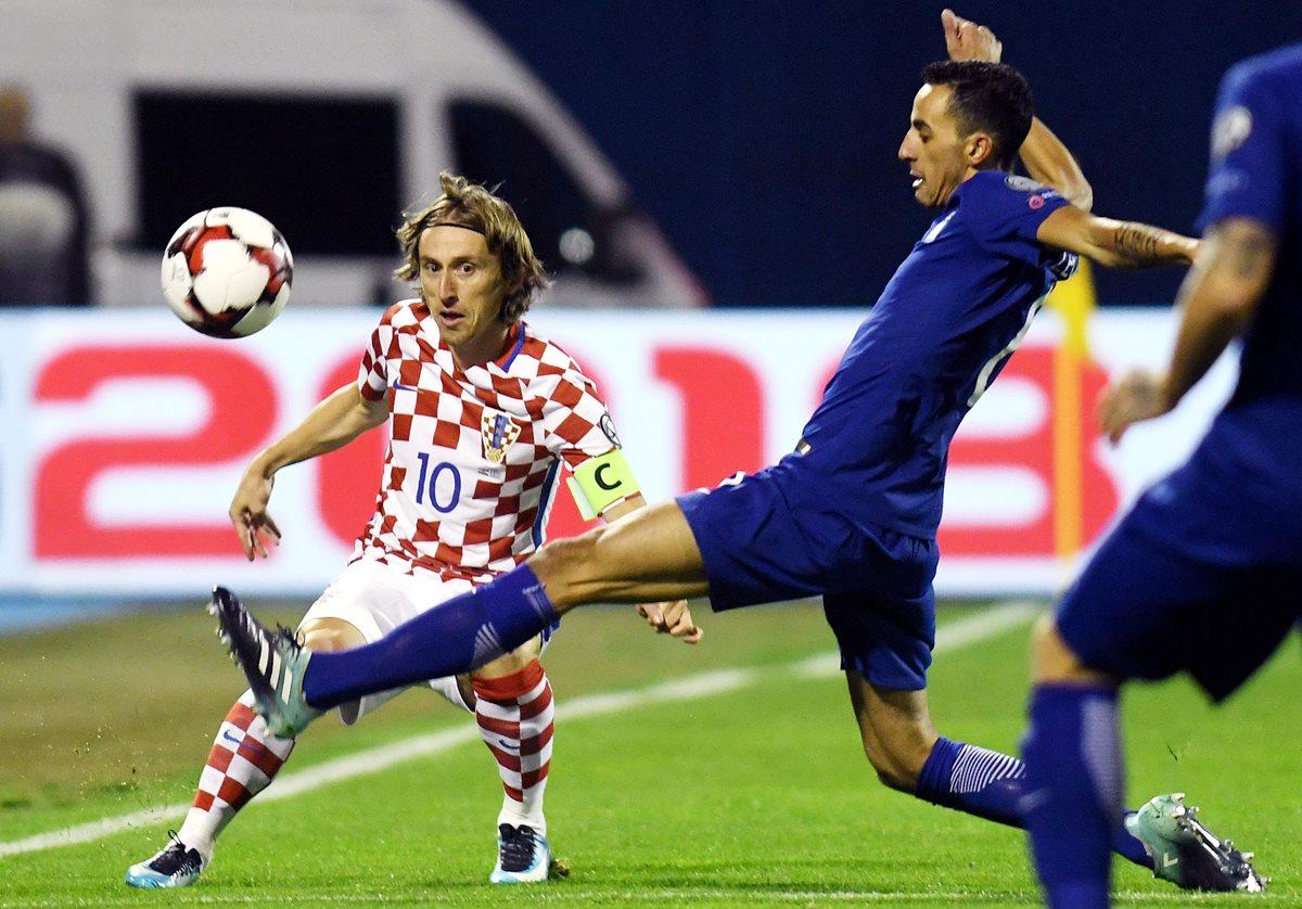 Croacia y Suiza pegan primero en la ida del repechaje europeo a Rusia
