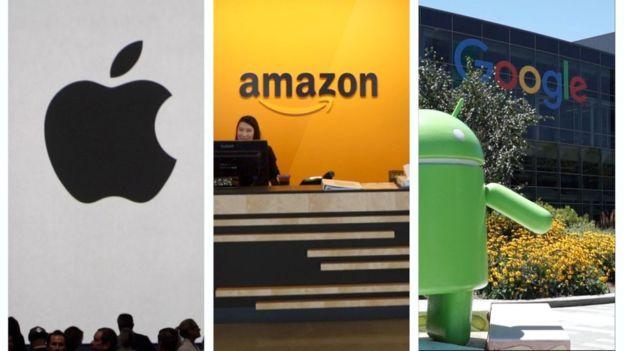 Los tres gigantes tecnológicos se disputaron por meses convertirse en la empresa del billón de dólares.