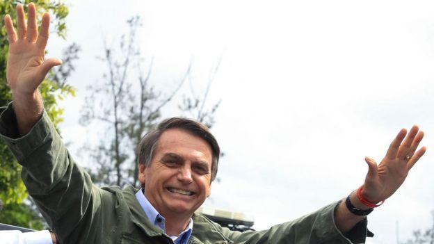 Jair Bolsonaro es el presidente electo de Brasil.(GETTY)