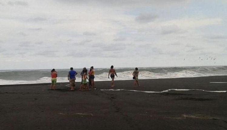 Playa de aldea Linda Mar ubicada en Puerto San José, Escuintla. (Foto Prensa Libre: HemerotecaPL)
