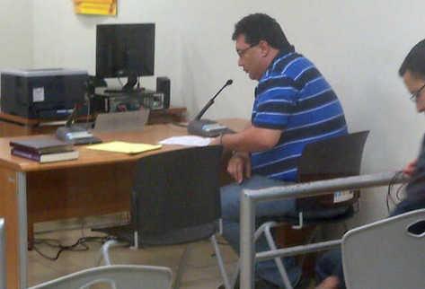 César Barrientos fue vinculado a red de trata de personas. (Foto Prensa Libre: Estuardo Paredes)