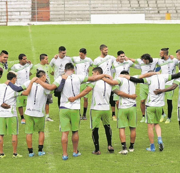 Antigua GFC fue el campeón del torneo apertura 2017. (Foto Prensa Libre: Hemeroteca PL)