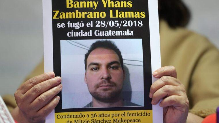 d4b33777e3 Banny Zambrano fue condenado en el 2017 por haber matado a su esposa Mitzie  Alejandra Sánchez