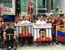 Venezolanos han protestado en reiteradas ocasiones en contra del régimen de Maduro. (Foto Prensa Libre: EFE)