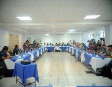 El pasado sábado los miembros de la asamblea volvieron a no aprobar la ampliación del mandato de la Fedefut. (Foto Prensa Libre: Edwin Fajardo)