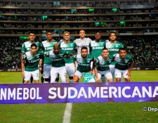 El espigado portero guatemalteco Ricardo Jerez Figueroa fue tomado en cuenta en la convocatoria del Deportivo Cali para enfrentar al Junior, en el partido de vuelta de la segunda fase de la Copa Sudamericana (Foto Prensa Libre: Hemeroteca PL)