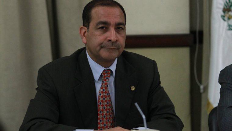 Abogado Ovidio Parra, presidente del Cedecón. (Foto Prensa Libre: Hemeroteca PL)