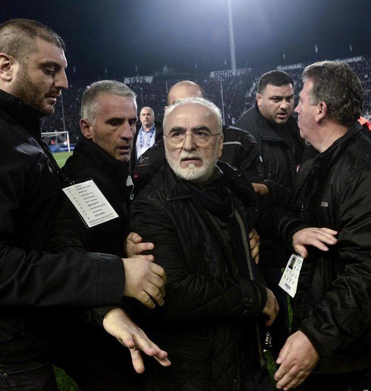 No es la primera vez que el club griego es acusado de violencia en el futbol. (Foto Prensa Libre: AFP)