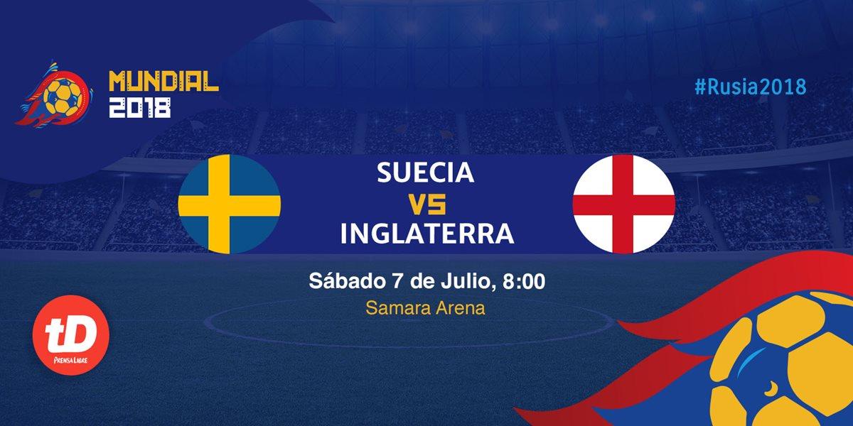 Minuto a minuto | Suecia vs Inglaterra