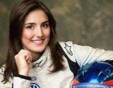 Tatiana Calderón es la piloto colombiana que se ha unido al equipo de pruebas de la escudería Sauber de Fórmula 1. (Foto Prensa Libre: Facebook Tatiana Calderón)