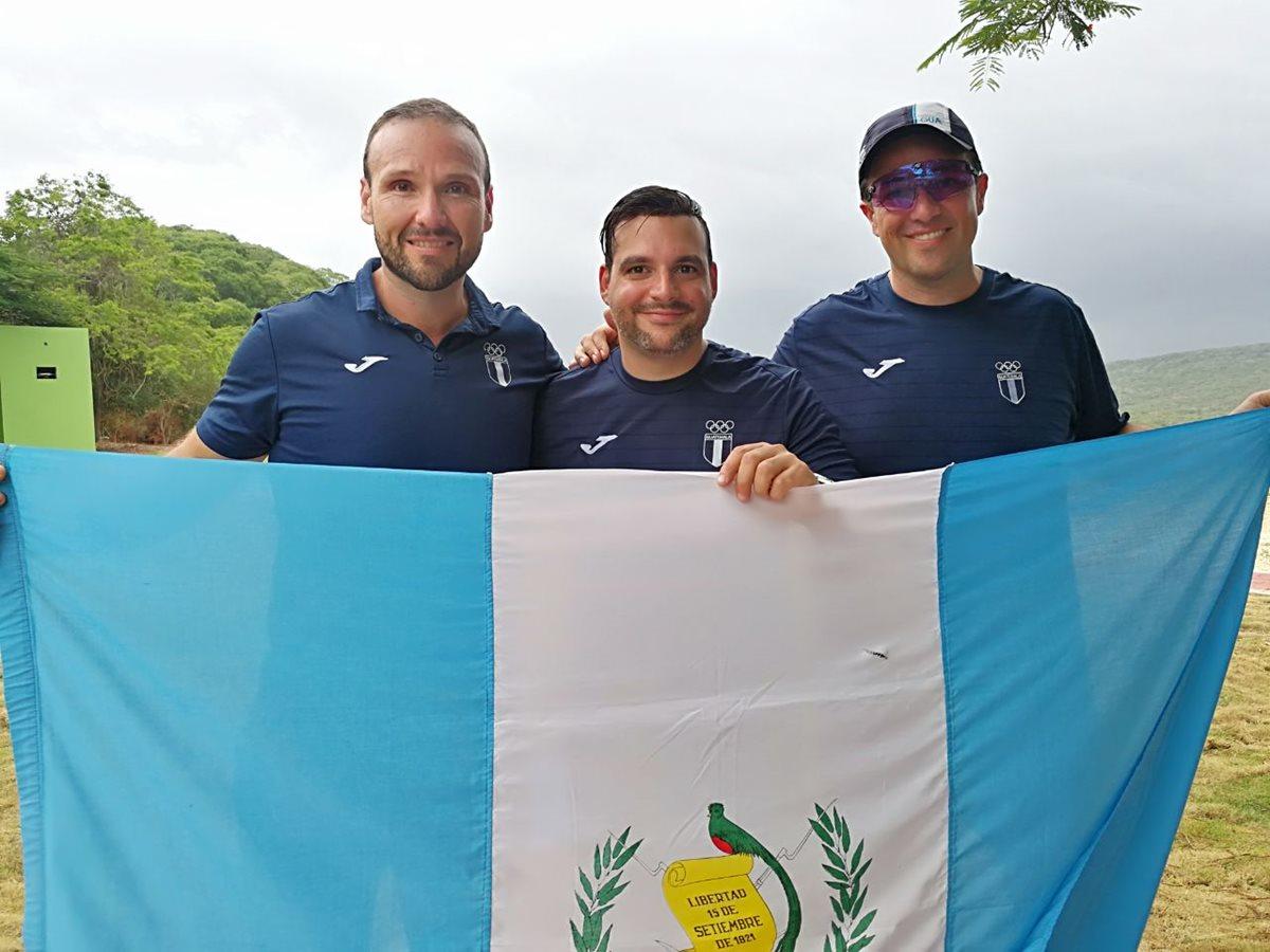 Enrique y Hebert Brol y Pablo Duarte ganan oro en doble foso en Barranquilla