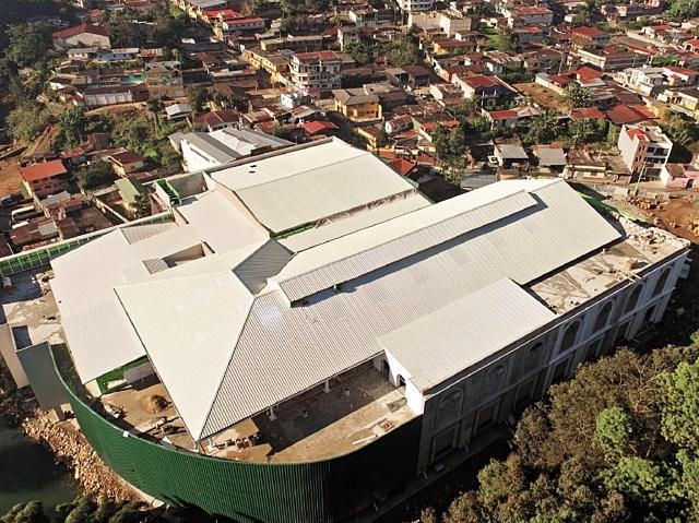 Entre las ciudades de San Pedro Carchá y Cobán hay medio millón de habitantes, una cifra que fue parte de la decisión para construir el proyecto. (Foto Prensa Libre: Cortesía)
