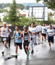 Muchos de los competidores padecen diabetes y quisieron demostrar que la enfermedad no es impedimento. (Foto Prensa Libre: Norvin Mendoza)