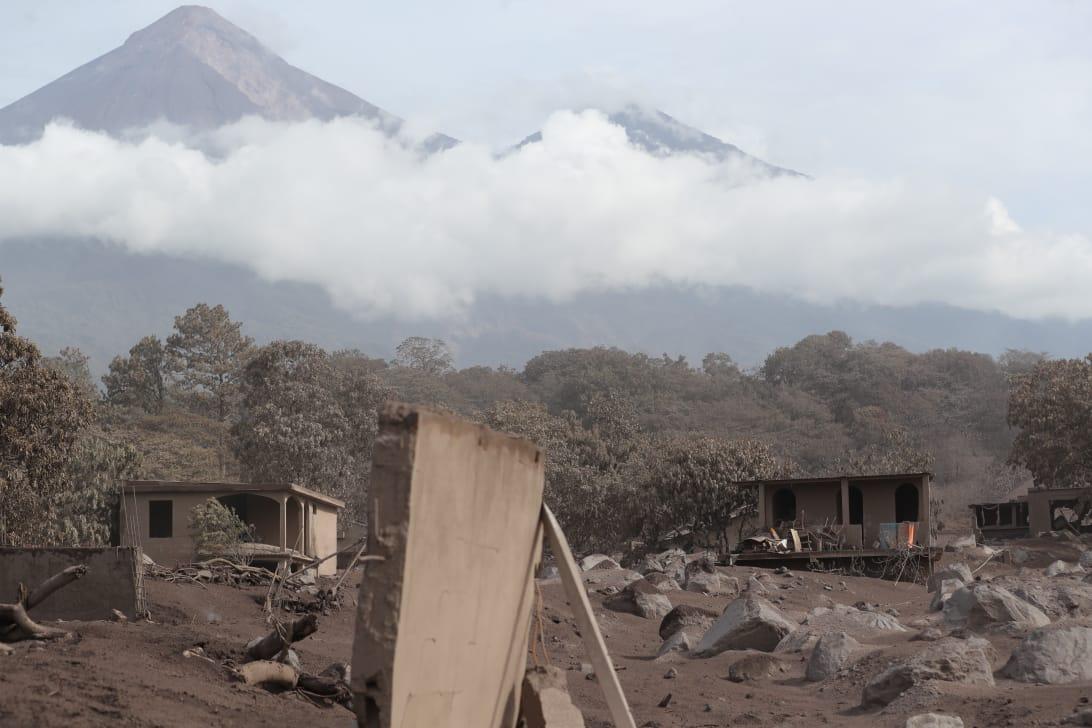 En la aldea San Miguel Los Lotes, Escuintla, el panorama es desolado.