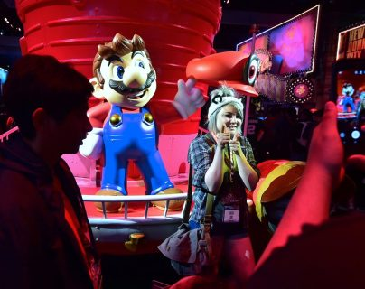 Mario, ícono de Nintendo, tendrá una nueva entrega, ahora para la Nintendo Switch (Foto Prensa Libre: AFP).