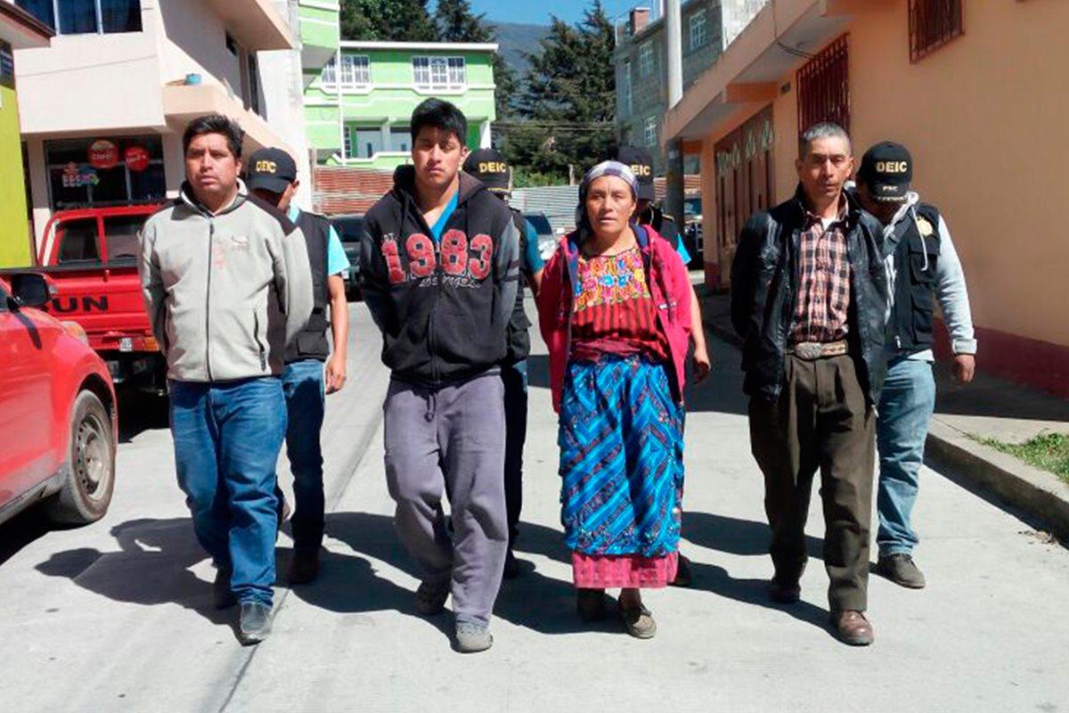 Capturan a familia por intentar matar a un agricultor en Ixchiguán