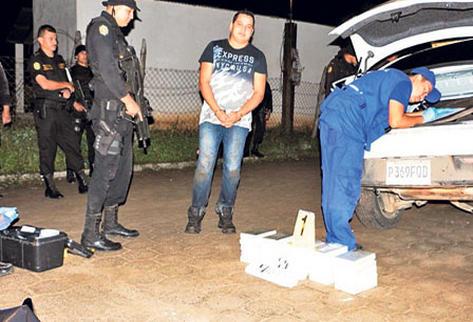 Zacapa es una zona de operación del narco, donde este mes las autoridades incautaron droga.
