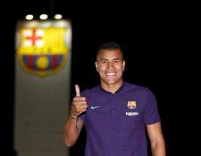 El defensa colombiano Jeison Murillo jugará cedido en el Barcelona el próximo campeonato. (Foto Prensa Libre).