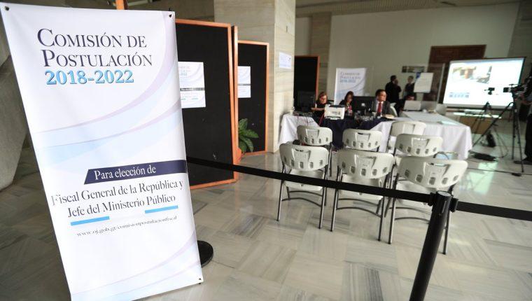 Los integrantes de la Comisión de Postulación se reunirán este viernes, al cerrar la recepción de documentos. (Foto Prensa Libre: Hemeroteca PL)