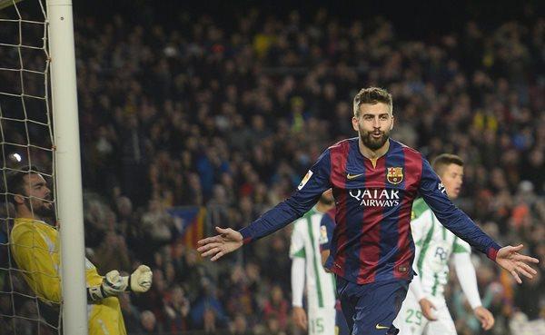 Gerard Piqué confesó como reaccionó cuando el Real Madrid ganó su décimo cetro de la Liga de Campeones de Europa (Foto Prensa Libre: Hemeroteca PL)