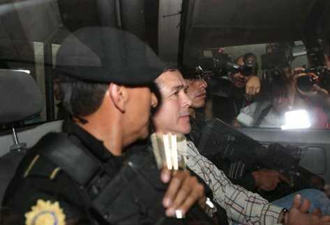Horst Walter Overdick Mejía en 2012 cuando fue detenido. (Foto Prensa Libre: Hemeroteca PL)