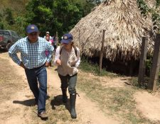 La relatora Magdalena Talamás, visitó las comunidades en la zona de adyacencia con Belice. (Foto: Minex)