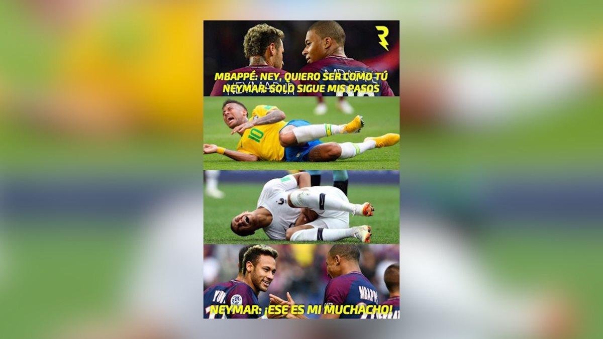 Mbappé protagoniza los memes de Uruguay contra Francia