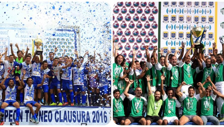 Suchitepéquez y Antigua GFC han roto con el poder de los equipos capitalinos en los torneos cortos. (Foto Prensa Libre: Hemeroteca PL)