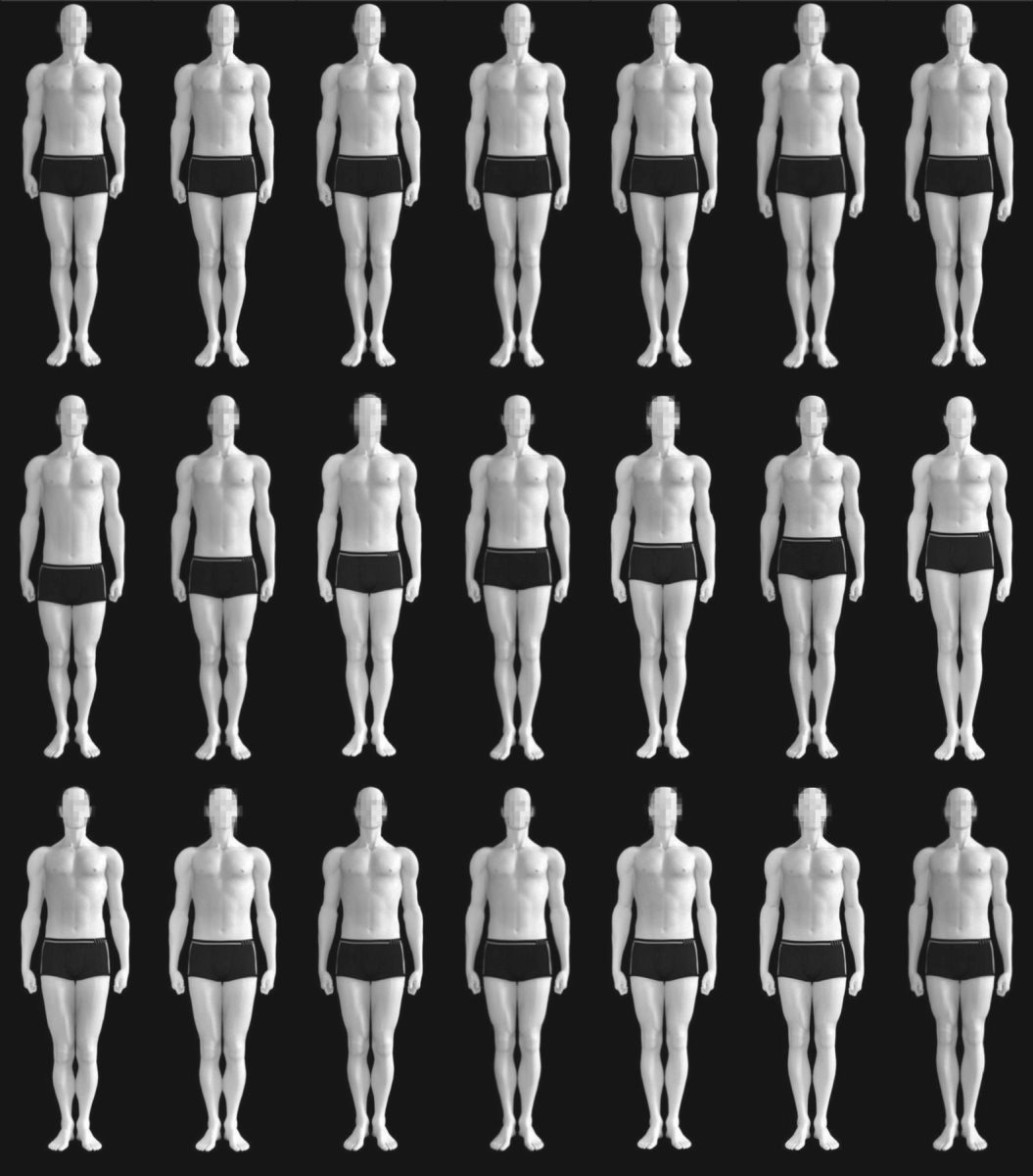 Imagen que los investigadores utilizaron para evaluar las apreciaciones de las mujeres heterosexuales (Foto Prensa Libre: The Royal Society Open Science).