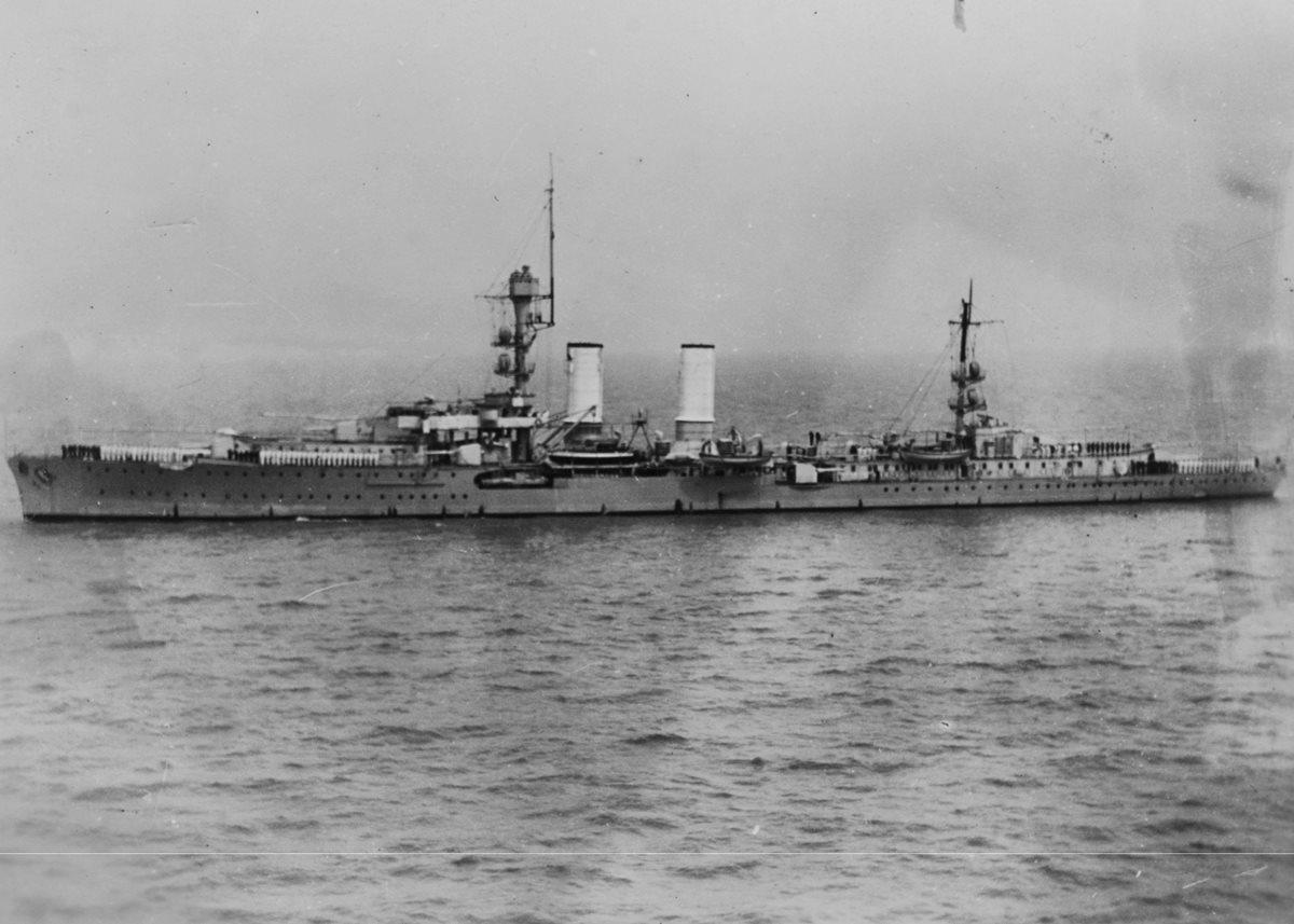 El buque nazi Emden pasó por Guatemala