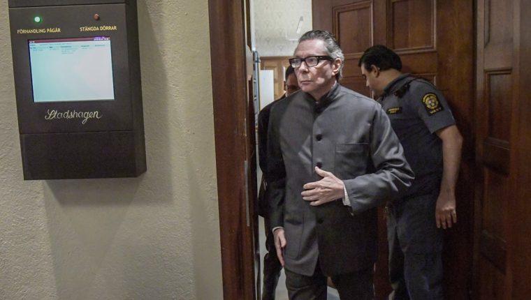 Jean-Claude Arnault fue condenado a dos años de cárcel por violación sexual. (Foto Prensa Libre: EFE)