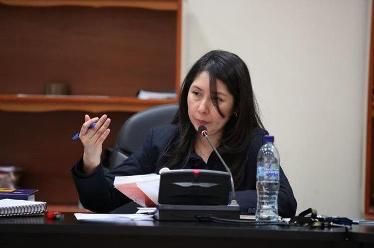 La jueza Éricka Aifán conoce casos como: Caja de Pandora, Construcción y Corrupción, Comisiones Paralelas y Migración. (Foto Prensa Libre: Hemeroteca PL)