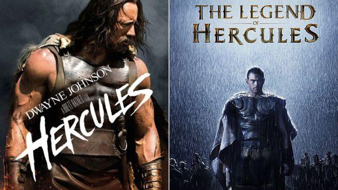 """""""Hércules"""" y """"La leyenda de Hércules"""" son ejemplo de las películas llamadas """"gemelas"""". PARAMOUNT/MILLENNIUM FILMS"""