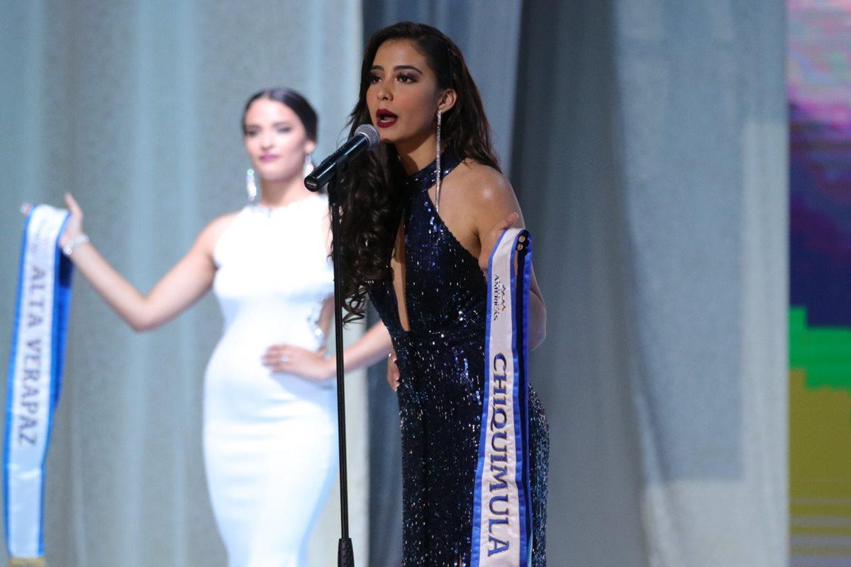 Adriana Victoria García Anleu, Chiquimula. (Foto Prensa Libre: Raúl Juárez)