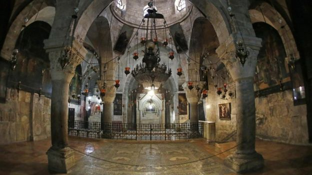 La iglesia ha sobrevivido a cambios de gobierno y a conflictos territoriales dentro del edificio. GETTY IMAGES