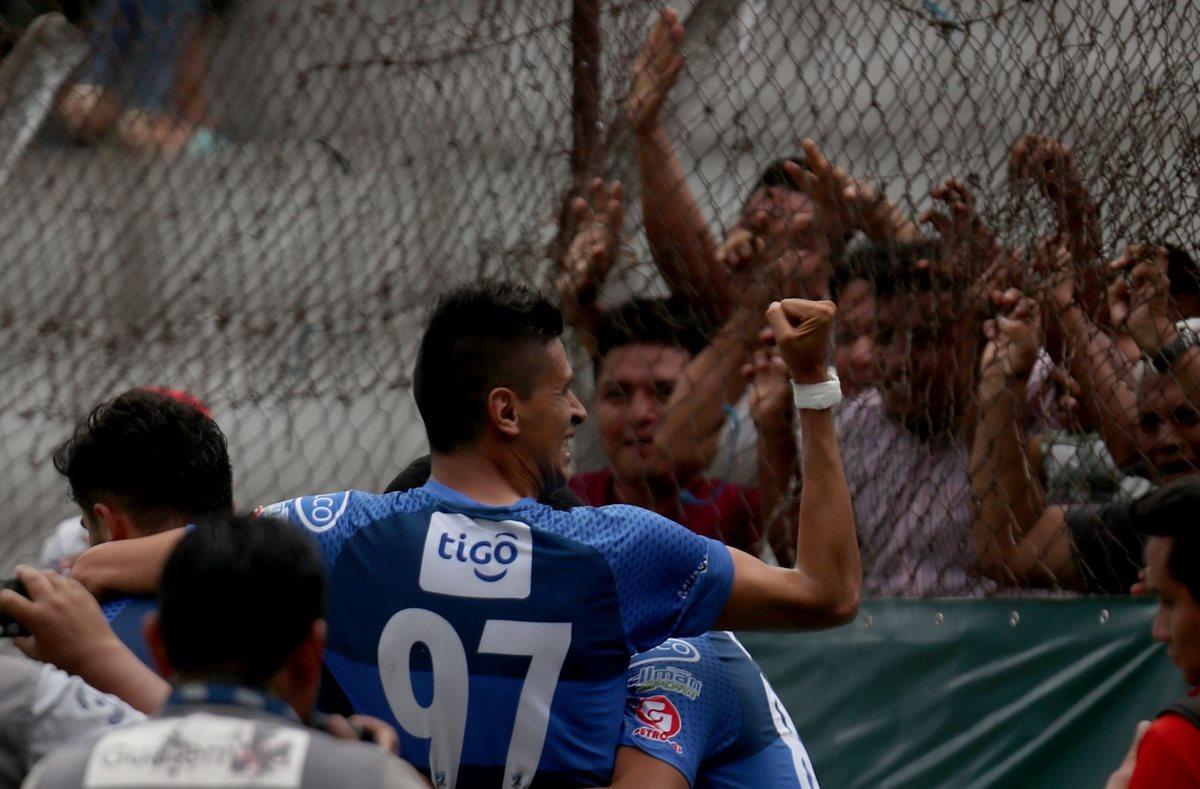 Othoniel Arce ha sido una de las piezas claves en el resurgir de Suchitepéquez. (Foto Prensa Libre: Carlos Vicente)
