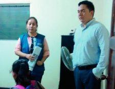 Una niña  de 13 años fue rescatada por la PDH en Santa Cruz Muluá, Retalhuleu, supuesta víctima de abuso sexual. (Foto Prensa Libre: Rolando Miranda)