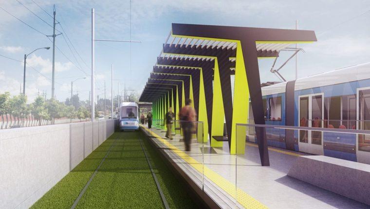 Es posible realizar un Metro Riel en la Ciudad de Guatemala. (Foto Prensa Libre: Cortesía)
