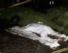 Raymundo Ixlaj, de 58 años, propietario de una radio comunitaria, murió baleado en San Marcos. (Foto Prensa Libre: Whitmer Barrera)