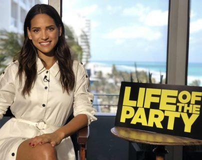 """Adria Arjona interpretará a Amanda en la cinta """"Life of the party"""". (Foto Prensa Libre: EFE)"""